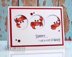 Feeling Crabby? by stampcatwg - Cards and Paper Crafts at Splitcoaststampers