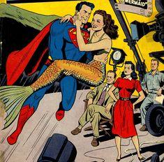 superman à la pêche