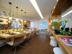 Sala de jantar do apartamento decorado - Sublime Vila Prudente