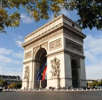 Arc de Triomphe, go for the view from the top.