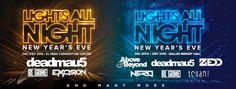 Lights All Night – Dallas & El Paso TX New Years Eve