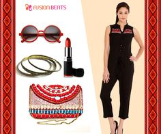 Forget dresses and get this easy to wear long jumpsuit in your wardrobe. #FreeSpirit #SS15 #EarthDeco