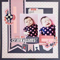 Little Miss Crankypants - Scrapbook.com