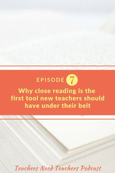 Teaching literacy is a responsibility for all teachers of all subjects, but what if you don't know how to teach reading? Close Reading Strategies, Reading Comprehension Strategies, Teaching Philosophy, Philosophy Of Education, Teaching Methods, Teaching Strategies, Teaching Resources, Learning Log, Teaching Reading