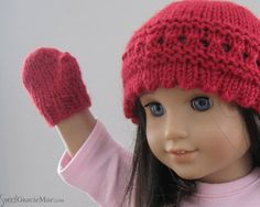 American Girl Doll Knitting Pattern Little by SweetGracieMae