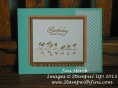 beach, summer card. Love the new in colors  and the Wetlands stamp set