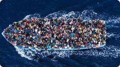 Juan Medina el fotógrafo que retrata los horrores en el mar.