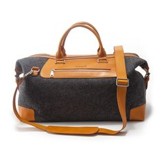 Oscar Travel Bag // Merino Wool