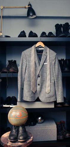 """""""Three staples every man should own  a grey flannel suit 89c3d367c2"""