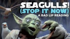 Yoda warns about the dangers of seagulls in a new 'Star Wars' Bad Lip Reading