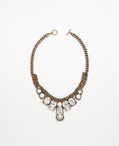 ann taylor burnished treasure necklace. maybe.