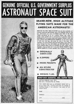 Surplus Astronaut Space Suit