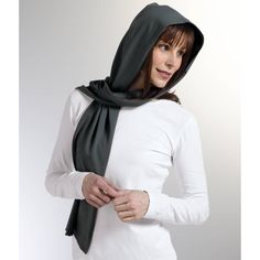 The generously sized Pearl UV Protection Scarf is fashioned from our latest silk-like fabric. These easy to wear/carry women's scarves add maximum UPF coverage. Upf Clothing, Gifts For Cancer Patients, Sun Protective Clothing, Natural Redhead, Hooded Scarf, Womens Scarves, Hats For Women, Hoods, Raincoat