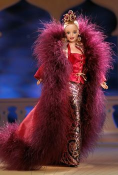 Cinnabar Sensation Barbie Doll - 1999 Collectible Designer Dolls - Byron Lars - Barbie Collector