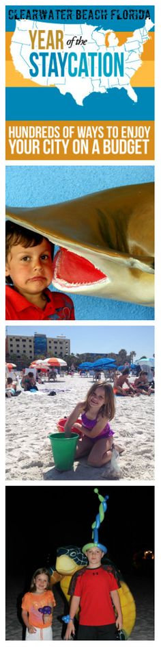 Clearwater Beach Florida Staycation Staycation: Enjoy Clearwater Beach on a Budget via BargainBriana.com