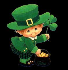 Saint Patricks Day Art, Happy St Patricks Day, St Patricks Day Pictures, St Patricks Day Wallpaper, Lucky Plant, Crochet Santa, Erin Go Bragh, Cute Fantasy Creatures, Irish Cottage