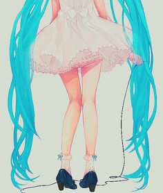 Lol i almost missed this xD Hastune Miku... i guess lol