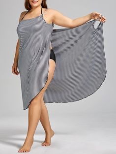 SHARE & Get it FREE | Stripe Plus Size Cover-upFor Fashion Lovers only:80,000+ Items • New Arrivals Daily • Affordable Casual to Chic for Every Occasion Join Sammydress: Get YOUR $50 NOW!