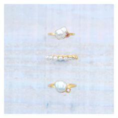 温暖で美しい海で育つ南洋パールと日本の伊勢や宇和島などで育つあこやパール。  #GICLAT #ジュエリー#jewelry #jewellery  #diamond #ring #pearl #southseapearl #南洋真珠 #真珠 #南洋パール #白蝶 #カラーダイヤ #gold #akoya #akoyapearl #指輪 #jewelrygram