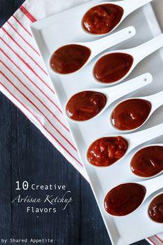 10 Creative Artisan Ketchup Flavors   sharedappetite.com #GameTimeGrub #ad #cbias