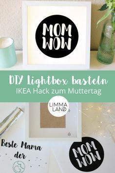 Bald ist wieder Muttertag und Vatertag! Wie immer driekt hintereinander ;-) wir haben für euch eine schöne Bastelidee mit dem IKEA RIBBA Bilderrahmen. Ihr könnt mit unserer kostenlosen Vorlage eine Lightbox selber basteln. www.limmaland.com/blog #limmaland #lichtbox #lichtboxbasteln #lightbox #lightboxbasteln #muttertagsgeschenk #muttertag #vatertagsgeschenk #vatertag