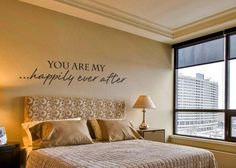 You+are+my+happily+ever+after+romantic+vinyl++by+GrabersGraphics,+$30.00
