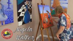 Oil painting techniques and tutorial for beginners or artists of all ages and skills. In this fine art TV show episode Angela Walker is interviewed with Colo. Oil Painting Techniques, Painting Lessons, Painting Tips, Art Techniques, Creative Art, Creative Ideas, Free Youtube, Learn To Paint, Best Artist