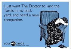 This is the story of my life. Thank you Moffat.