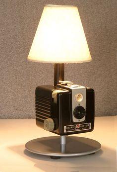 Awesome Upcycled Lamp