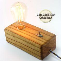 ¡Mirá nuestro nuevo producto Veladores Vintage base de madera maciza! Si te gusta podés ayudarnos pinéandolo en alguno de tus tableros :)