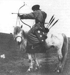 Manchu horseback archery