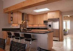 Orsa Birch Cabinets Kitchen Design Ideas, Pictures, Remodel and Decor
