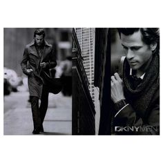 DKNY Men Ad Campaign Fall/Winter 2008 Shot #2 ❤ liked on Polyvore