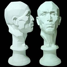 4 of 9 Gurney Journey: Plane Heads. Drawing and painting from plane heads is a central part of Chinese and Russian academic practice, and various companies have resurrected some of these art school models, such as this 21-Inch plaster head. ( http://www.amazon.com/gp/product/B00L2DYWJY/ref=as_li_tl?ie=UTF8&camp=1789&creative=9325&creativeASIN=B00L2DYWJY&linkCode=as2&tag=gurnjour-20&linkId=FU73CJNCMB2XZM3I )