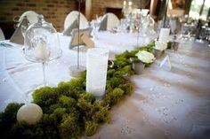Une décoration de table pour un mariage nature et chic Theme Nature, Deco Table, Christmas Deco, Wedding Tips, Communion, Table Decorations, Flowers, Bouquets, Home Decor