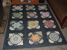 Vintage Doily Quilt, Gather up your old doilies and put them into a quilt! Description from pinterest.com. I searched for this on bing.com/images
