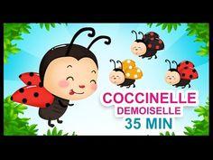 Coccinelle, demoiselle - Comptines pour les petits - Titounis - YouTube