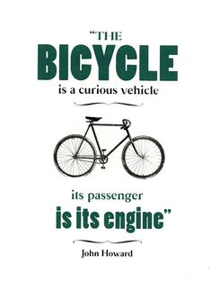And that's the reason people who ride are healthy!