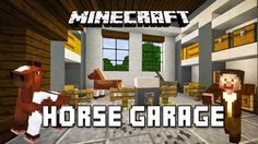 Elegant Minecraft Garage Ideas