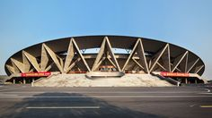 Image 1 of 19 from gallery of Sports Center of Jinhua City / The Architectural Design and Research Institute of Zhejiang University. Photograph by Zhang Yong