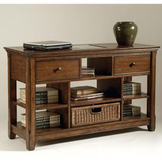 Tanner Collection Wood Rectangular Sofa Table - Overstock™ Shopping - Great Deals on Magnussen Home Furnishings Coffee, Sofa & End Tables