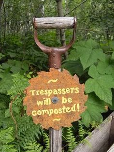 Bees, Birds, Berries, and Blooms!: something old is new again with signs...