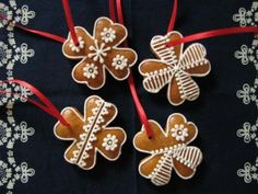 Honey Cookies, Xmas, Christmas Ornaments, Cookie Jars, Cookie Decorating, Gingerbread, Holiday Decor, Decorated Cookies, Christmas