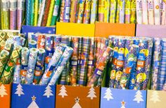 Alternatives to gift wrap for presents!