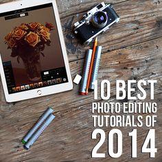 10 Best Photo Editing Tutorials of 2014
