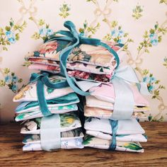 Vintage Fabric Scented Lavender Bags