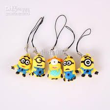 Minion key-ring, could make with clay, maybe?