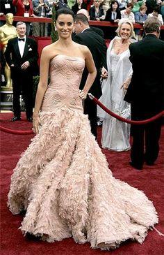 Penelope Cruz en Versace. Oscars 2007