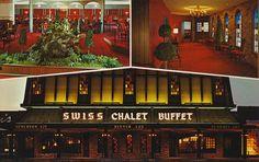 Swiss Chalet Buffet - Minneapolis, Minnesota Postcard