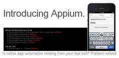 Фреймворк автоматизации тестирования для родных и гибридных мобильных приложений – Appium